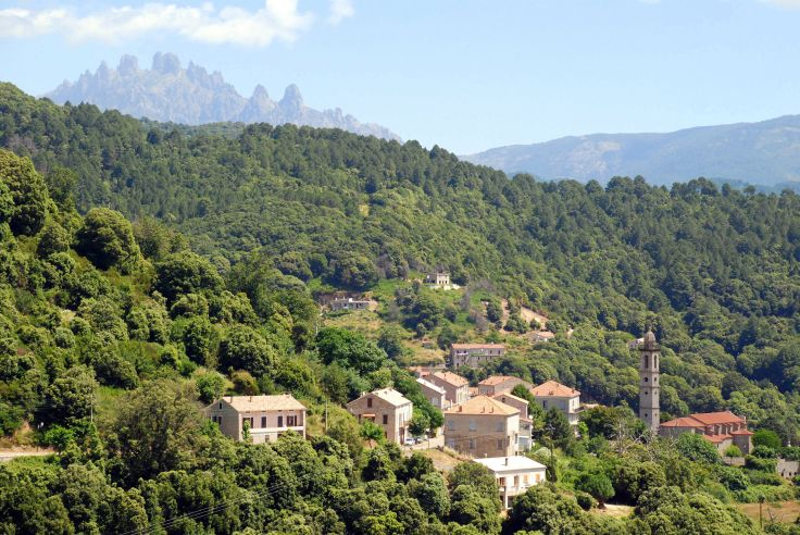 Levie - Corse - France