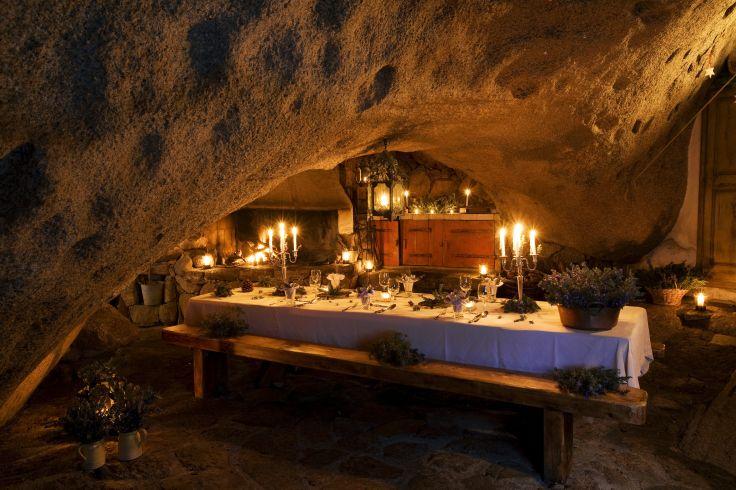 """Murtoli (Restaurant """"La Grotte"""") - Roccapina - Corse - France"""