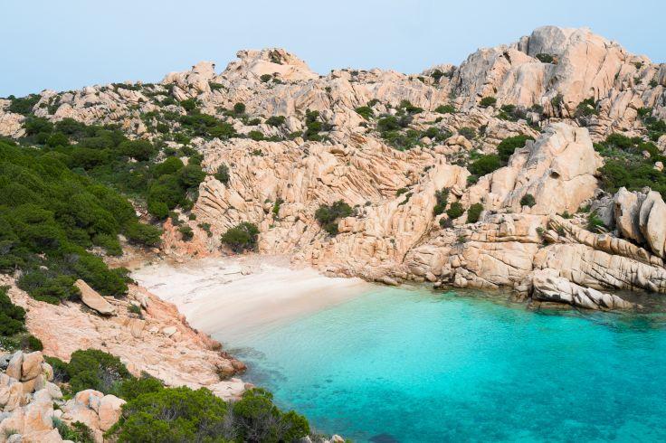 Caprera - archipel de la Maddalena - Italie