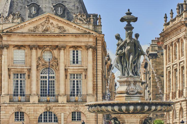 Place de la Bourse - Bordeaux - France