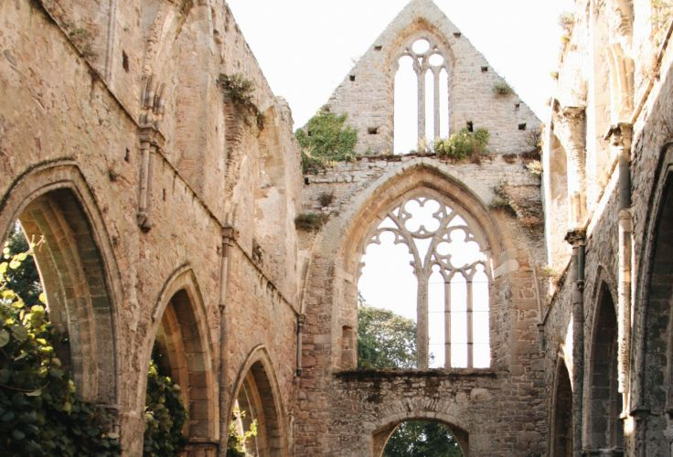 Abbaye de Beauport - Paimpol - Bretagne - France