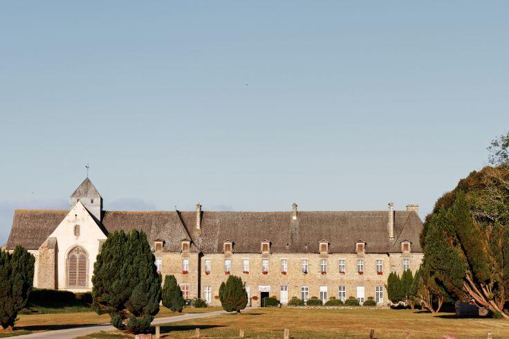 Abbaye Notre-Dame de Paimpont - Bretagne - France