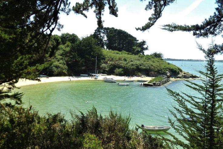 L'île aux Moines - Golfe du Morbihan, Bretagne, France
