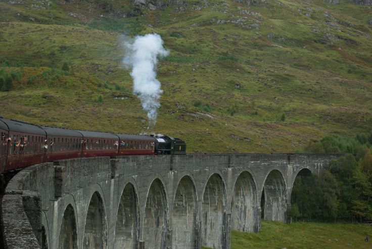 Jacobite Steam Train - Highlands - Ecosse