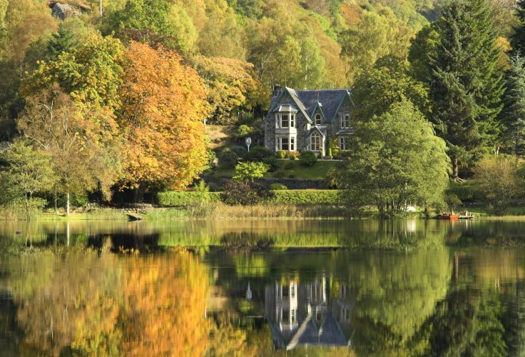 Loch Ard - Parc national Loch Lomond & The Trossachs - Ecosse