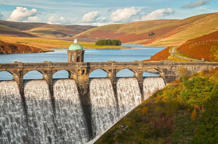 Craig Goch Dam - Elan Valley - Powys - Pays de Galles