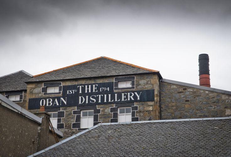Distillerie - Oban - Écosse - Royaume-Uni