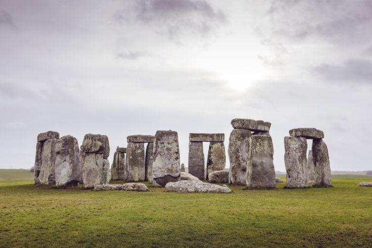 Stonehenge - Wiltshire - Angleterre