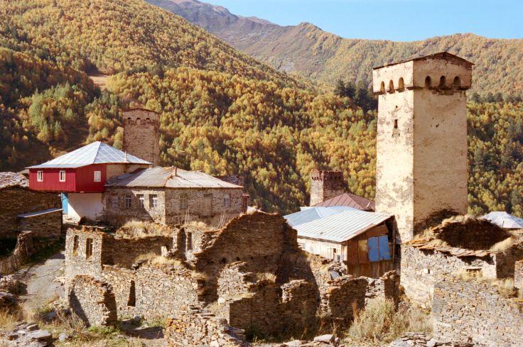 Ushguli - Haute Svanétie - Géorgie