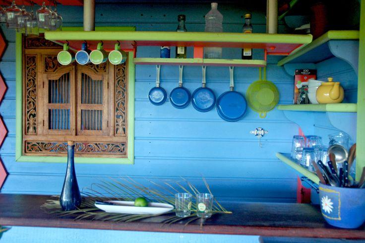 Tendacayou - Une habitation haute en couleurs