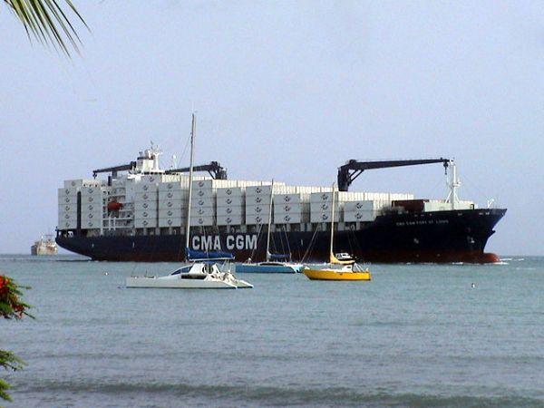 Traversée en cargo - Aller simple pour les Antilles
