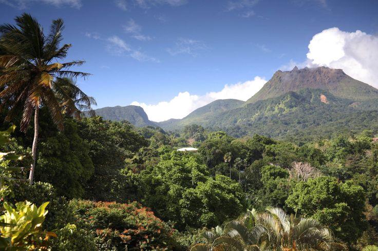 Parc national de la Soufrière - Saint Claude - Guadeloupe