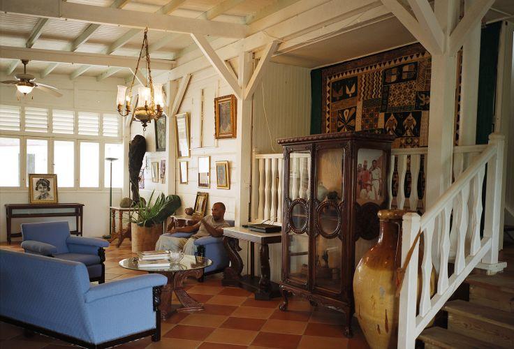 Maison de Simone et Andre Schwarz-Bart - Goyave - Basse-Terre - Guadeloupe