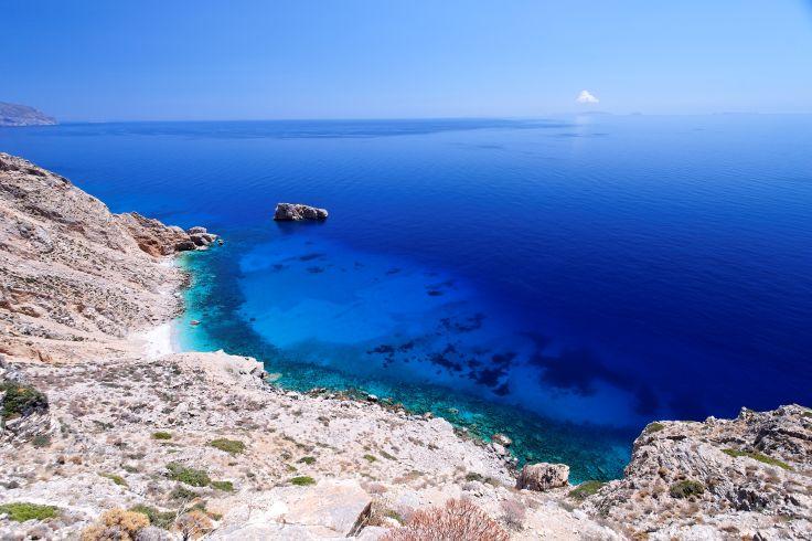 Naxos & Amorgos - Des vergers au Grand Bleu