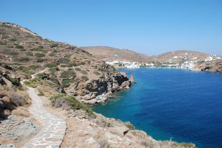 Sentier du littoral - Sifnos - Dodécannèse