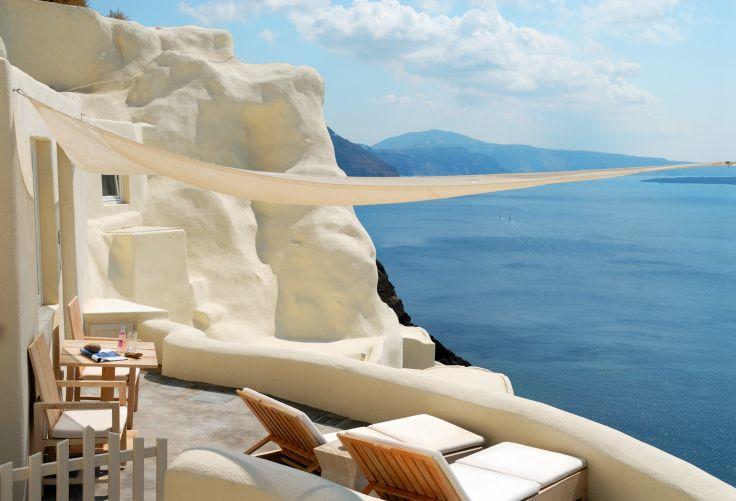 Mystique Resort - Santorin à l'abri des regards