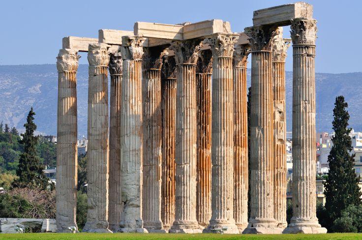 Temple de Zeus - Athènes - Grèce