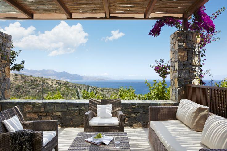 Crète & Santorin - Demeures de charme sur fond de grand bleu