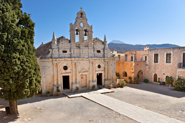 Monastère d'Arkadi - Réthymnon - Crète - Grèce