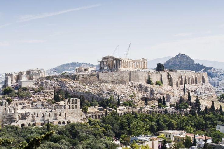 Athènes et Nauplie - Monuments antiques et soleil d'hiver