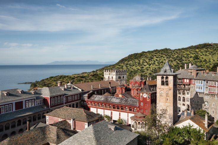 Monastère de Vatopedi - République monastique du mont Athos - Grèce