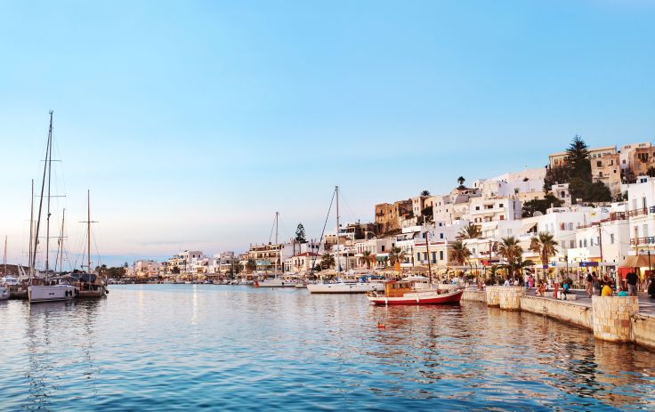 Paros, Naxos, Athènes - L'Acropole et les Cyclades à deux