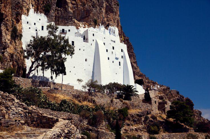 Monastère - Amorgos - Cyclades - Grèce
