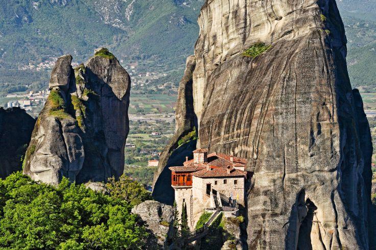 Monastère de Roussanou - les Météores - Grèce