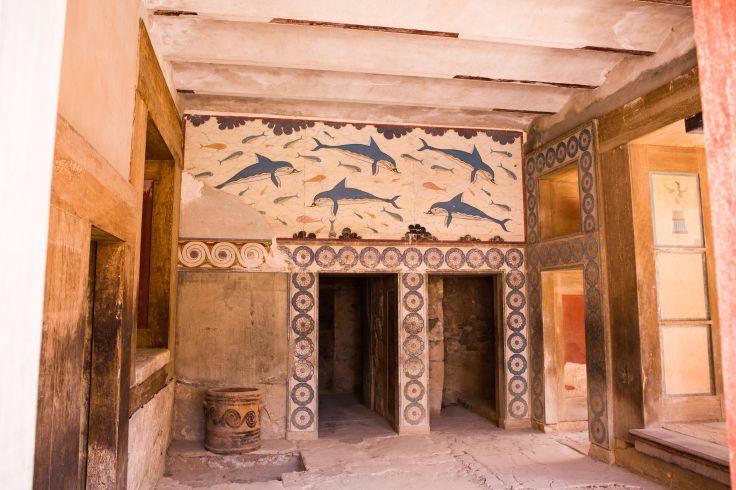 Cnossos - Heraklion - Crète - Grèce