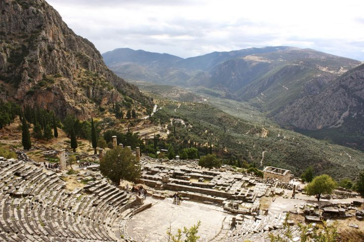 Delphes - Phocide - Grèce