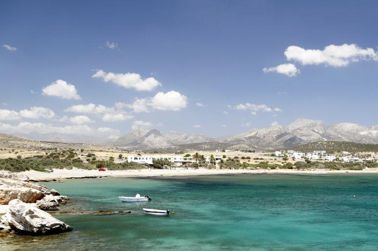 Plage de Pyrgaki - Naxos - Grèce