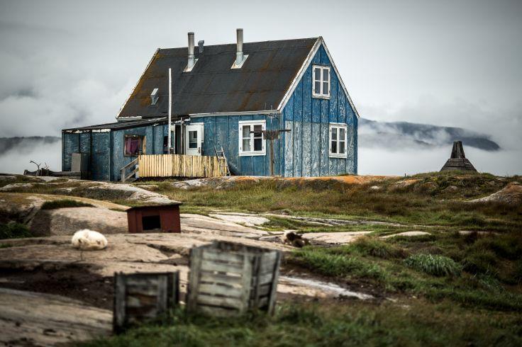Village d'Oqaatsut - Baie de Disko - Groenland