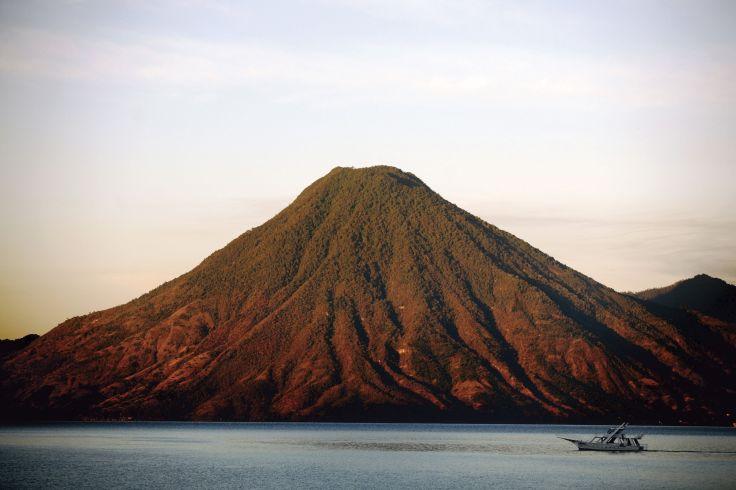 Volcan San Pedro et Lac Atitlan - Région de Panajachel - Guatemala