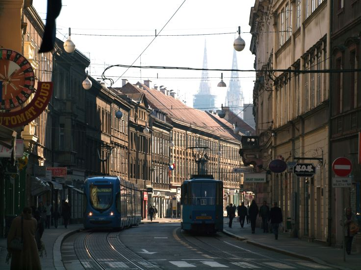Rue Ilica - Zagreb - Croatie
