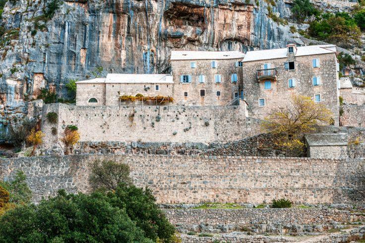 Le monastère de Blaca - Brac - Croatie