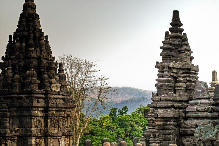Temple de Prambanan - Île de Java - Indonésie