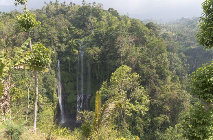Cascade de Sekumpul - Bali - Indonésie