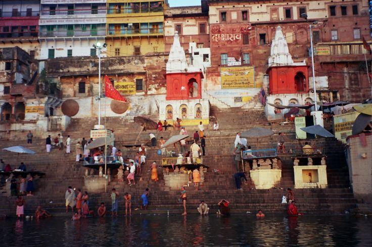 Les ghats - Bénarès - Inde