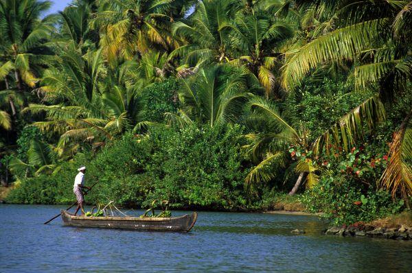 Cochin et backwaters du Kerala