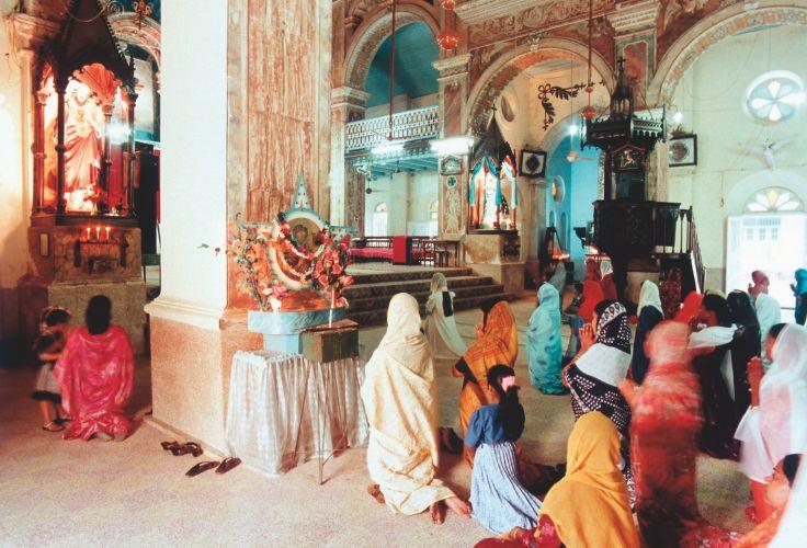 Cathédrale Sainte-Croix de Cochin - Inde