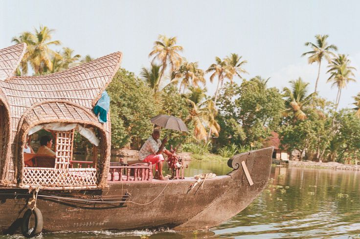 Backwaters - Allepey - Kerala - Inde