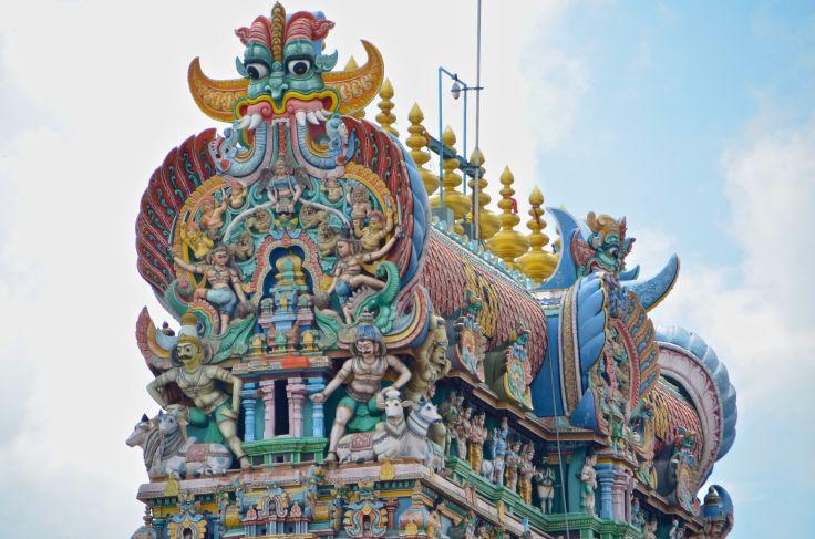 Temple Sri Meenakshi - Madurai - Tamil Nadu - Inde