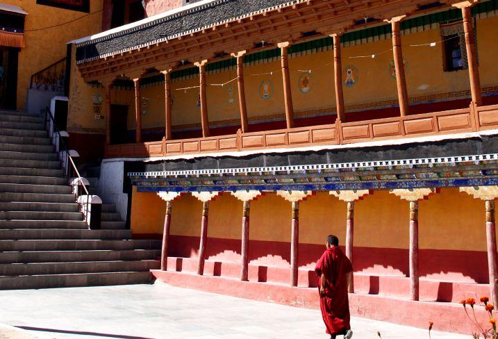 Monastère de Tiksé - Vallée de l'Indus - Ladakh - Inde