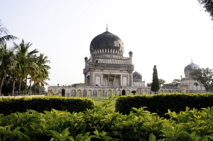 Tombes de Qutb Shahi - Hyderabad - Télangana - Inde