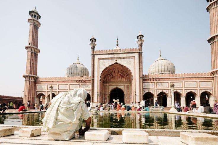 Mosquée Jama Masjid - Delhi - Inde