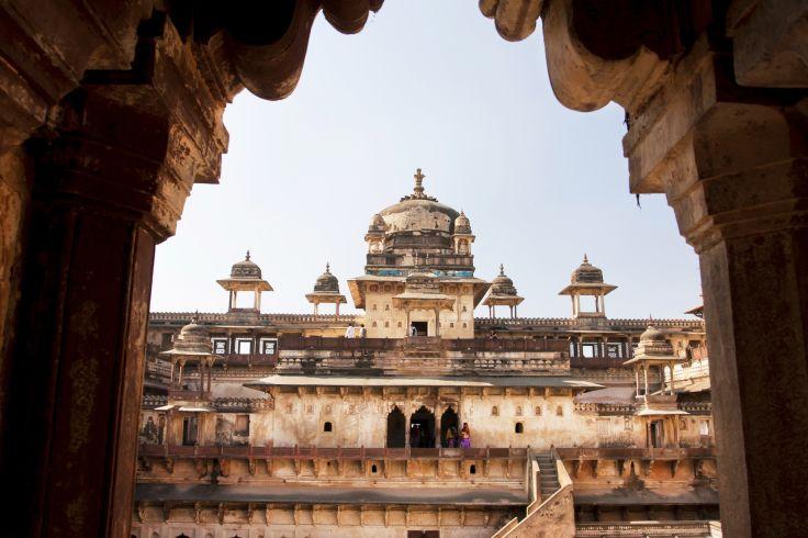 Jahangir Mahal - Orchhâ - Madhya Pradesh - Inde