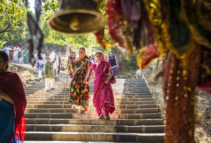 Temple de Palitana - Shatrunjaya Hills - Inde