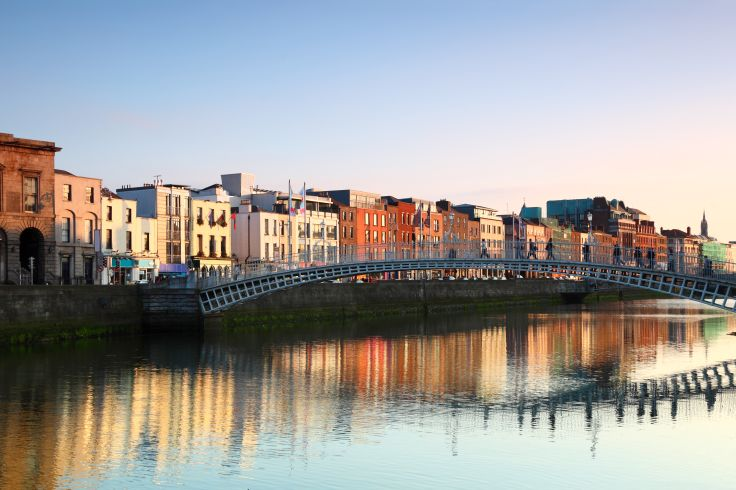 Ha'penny Bridge - Dublin - Irlande