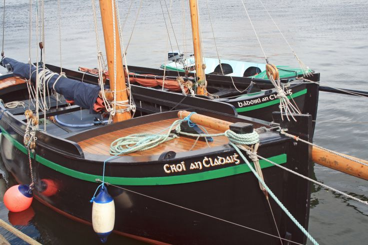 Port de Galway - Comté de Galway - Irlande