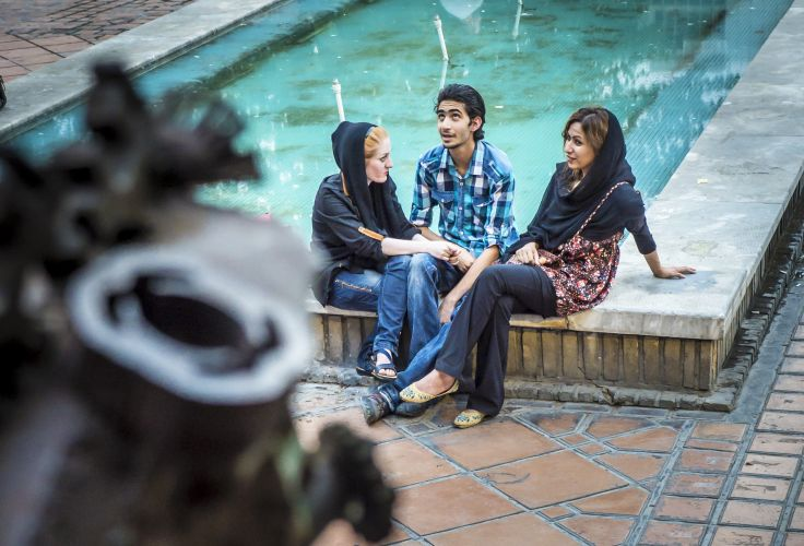 Un Noël iranien - Caravansérail et mosquées d'Ispahan